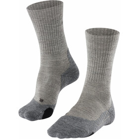 Falke TK2 Wool Vandresokker Damer, grå/beige